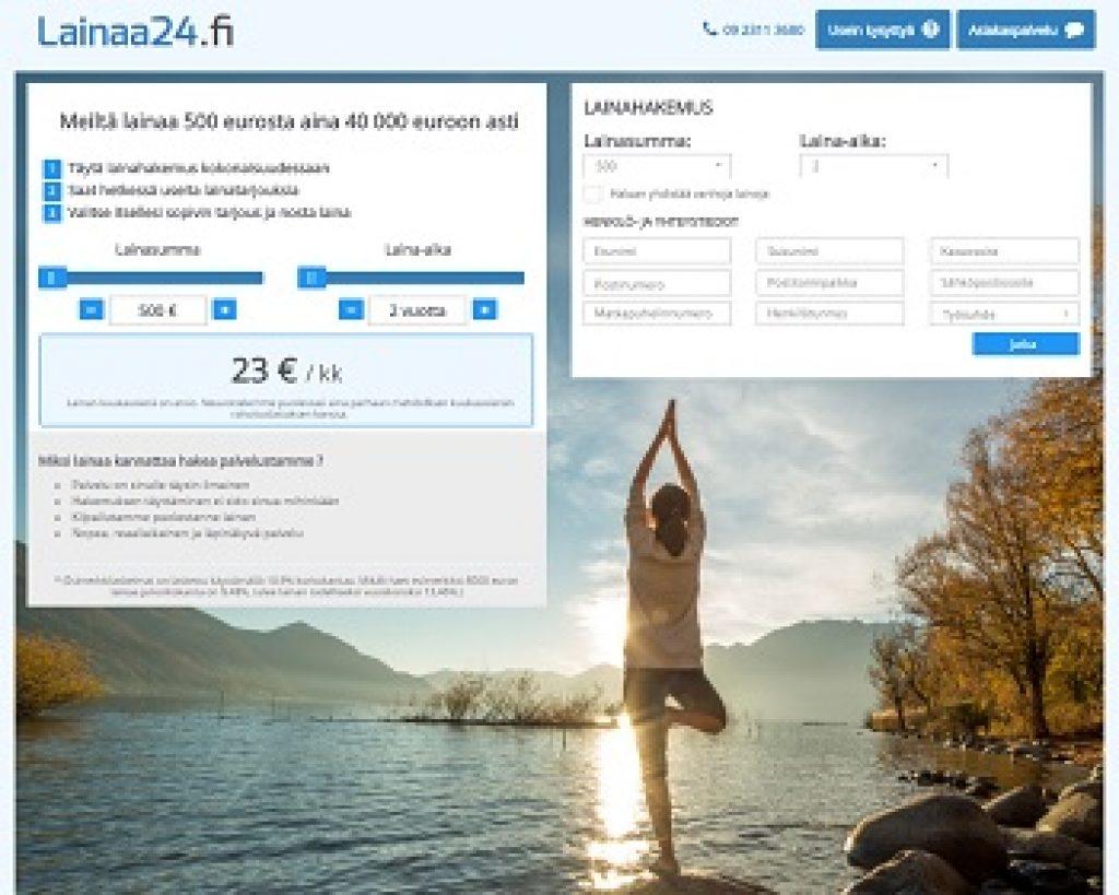 Lainaa24.fi - Lainaa netistä 500 - 50.000 €