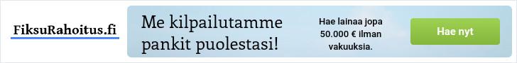 FiksuRahoitus.fi - Lainaa netistä 500 - 50.000 euroa.
