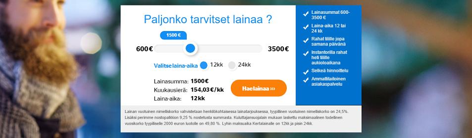 Laina.fi hakemus