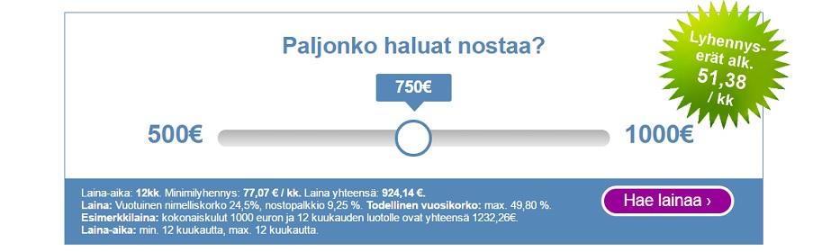 Risicum Kertalaina 500 - 1000 euroa!