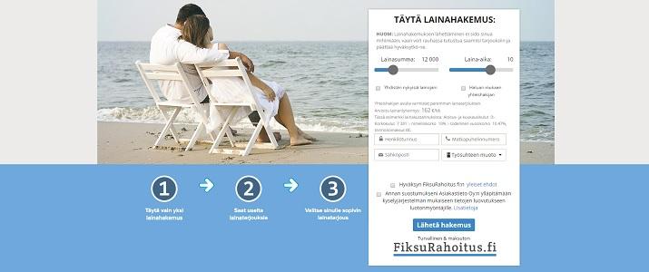FiksuRahoitus.fi - Lainaa netistä 500 - 40.000 euroa.