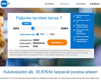 Laina.fi - Kertalaina netistä!