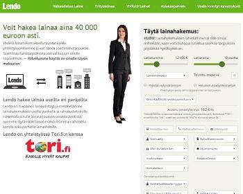 Lendo - Pankkilainaa netistä 500 - 50.000 €