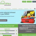 Ostosraha.fi - Lainaa netistä 400 - 5000 euroa.