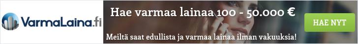 VarmaLaina.fi - Lainaa heti 100 - 50.000 euroa!