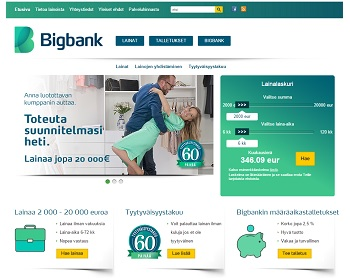 Bigbank.fi lainahakemukseen tästä.