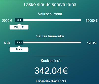 Bigbank.fi lainahakemus löytyy täältä.