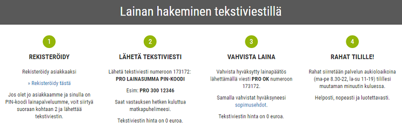 Ekstraluotto.fi Hae lainaa tästä.