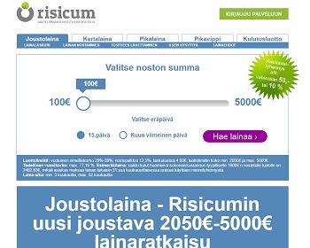 Risicum.fi Lue lisää.