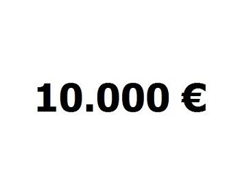Lainaa 10.000 euroa.