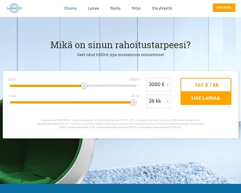 Lainasto.fi - Lainaa 100 - 3000 euroa!