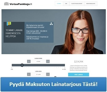 VertaaPankkeja.fi - Hae yhdistelylainaa!