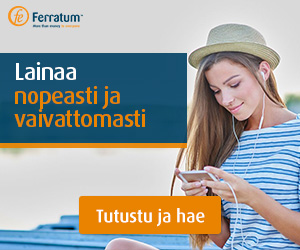 Hae joustavaa lainaa Ferratumilta!