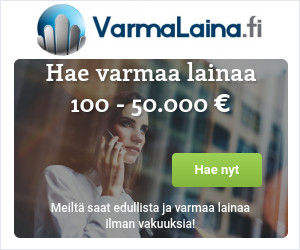 VarmaLaina.fi - Kun haluat varmasti edullista ja nopeaa lainaa!