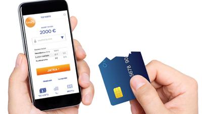 Virtuaalinen luottokortti kulkee aina mukanasi!