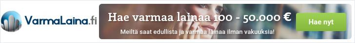 Lue lisää VarmaLaina.fi palvelusta!