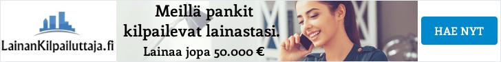 Lue lisää LainanKilpailuttaja.fi palvelusta!