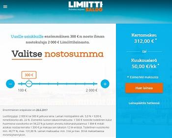 Limiitti.fi - Lainaa netistä!