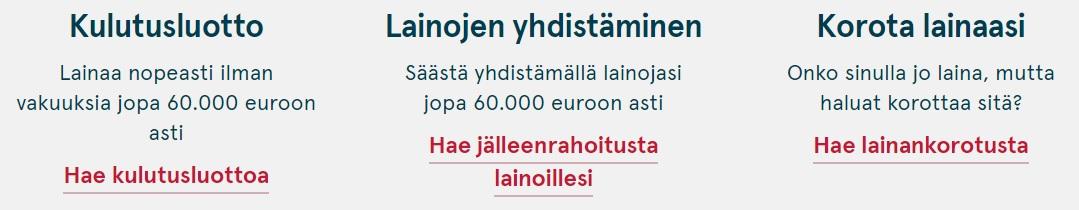 Lainojen yhdistäminen on Bank Norwegianilla helppoa!