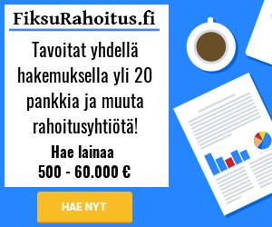 FiksuRahoitus.fi - Hae lainaa 500 - 60.000 euroa!