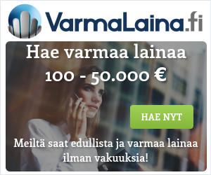 VarmaLaina.fi - Hae lainaa 100 - 50.000 euroa!