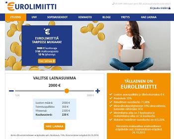 Eurolimiitti lainaa