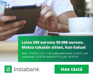 Rahoitu.fi - Hae lainaa 500 - 50.000 euroa!