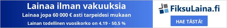 FiksuLaina.fi - Lainaa 100-60.000 €