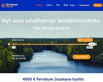 Ferratum - Hae joustoluotto