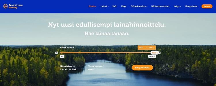 joustoluotto Ferratum.fi