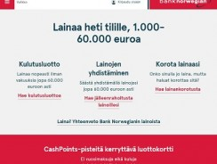 Bank Norwegian – Lainojen yhdistäminen